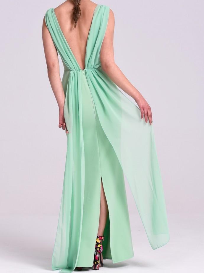 Vestidos verdes manzana